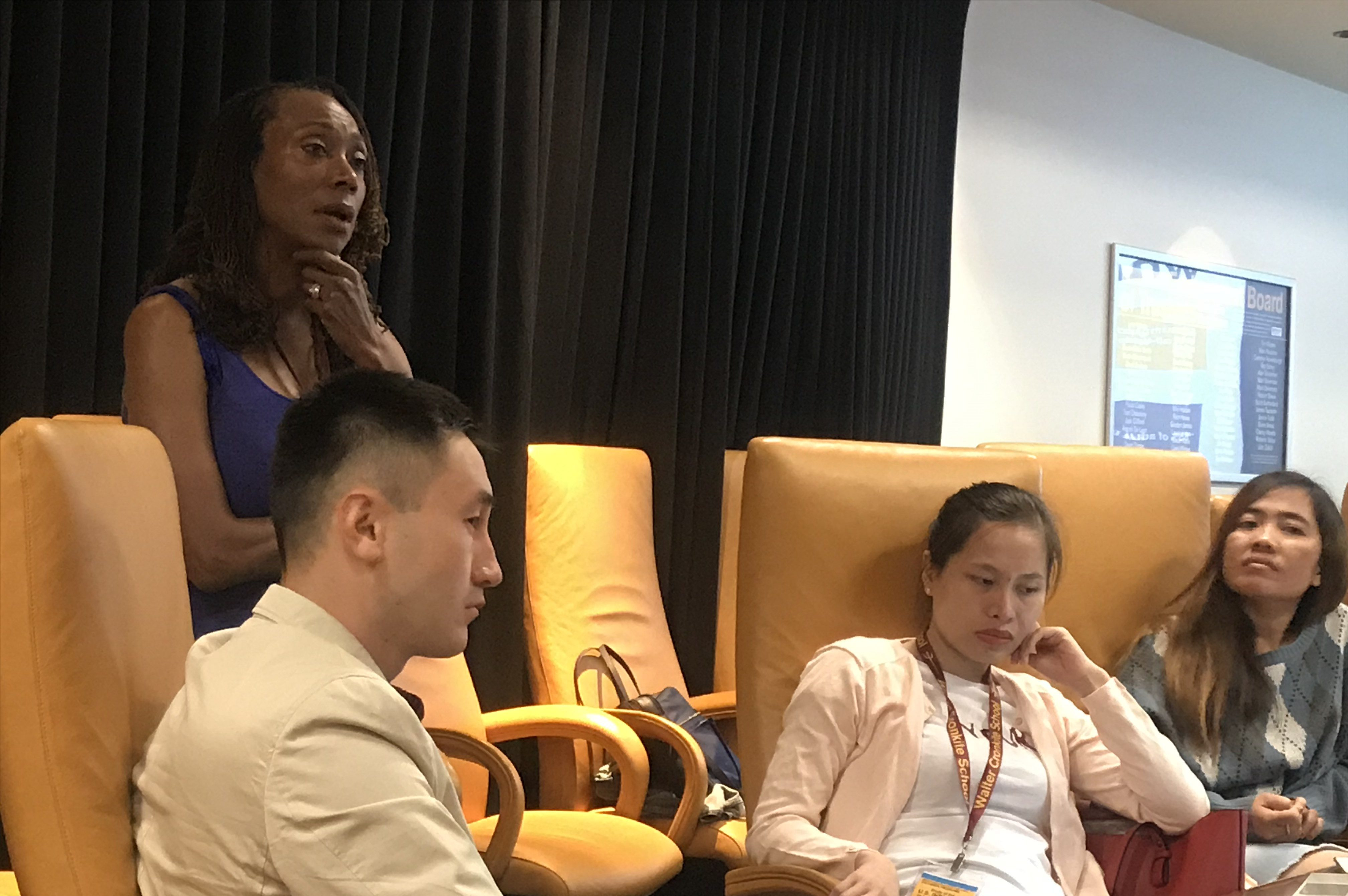 Retha Hill speaks to SUSI scholars