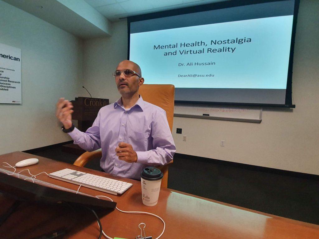 Dr. Ali Hussain studies use of social media to improve mental health