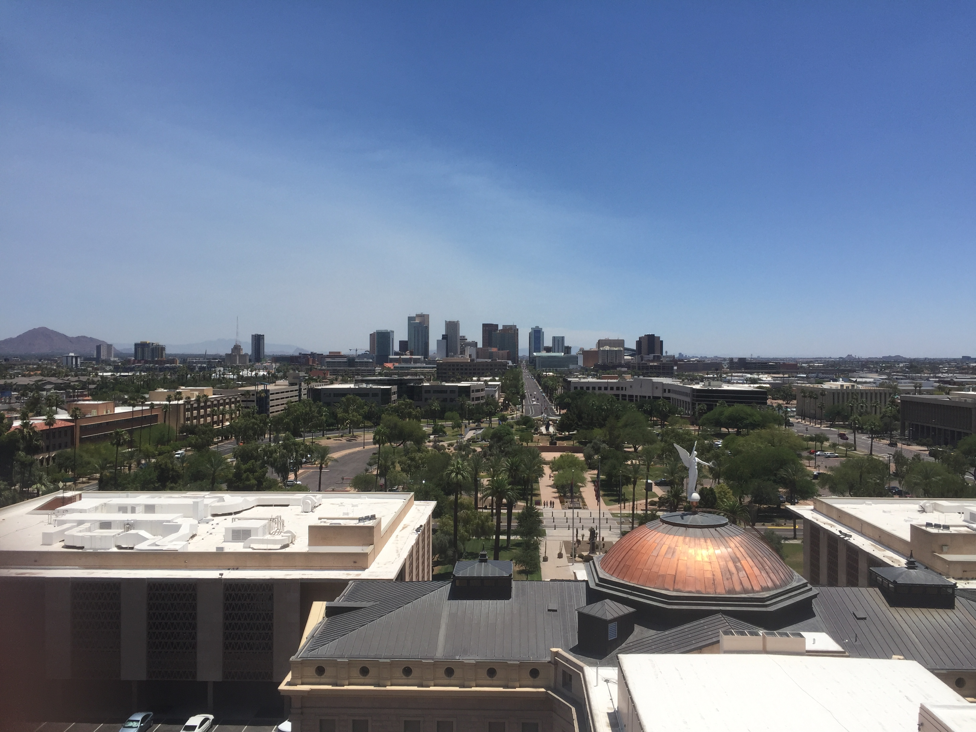 View of Phoenix from City Hall