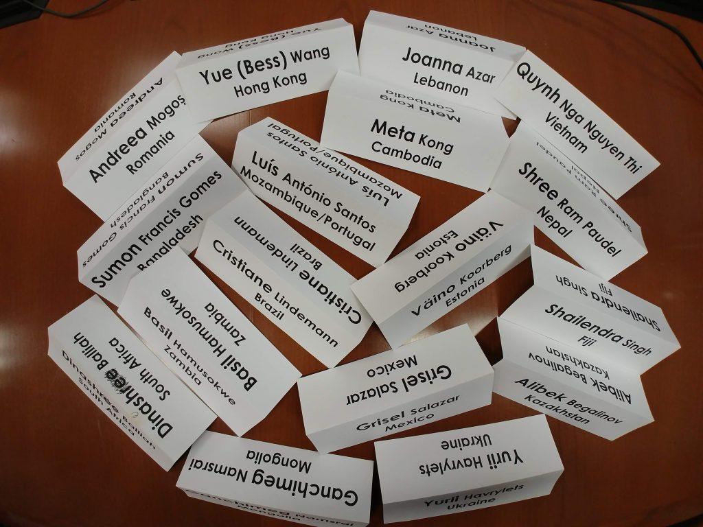 SUSI Name cards