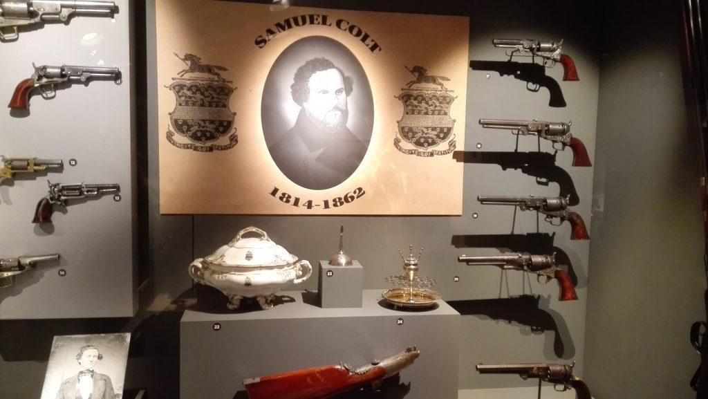 Samuel Colt tribute display