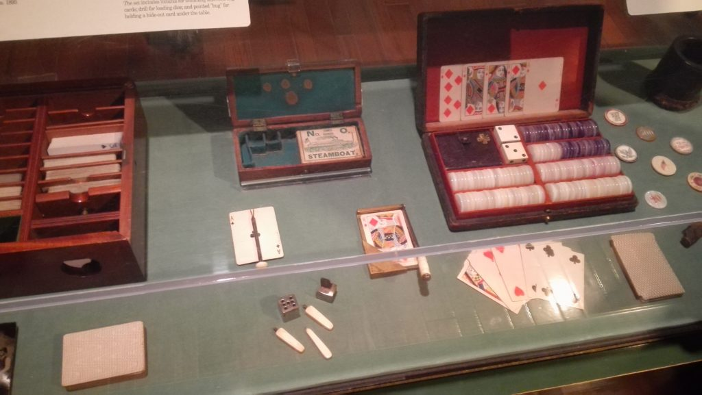 Western-era card and dice games