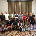 SUSI Group photo with Barnett Wright