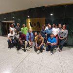 Group photo at VOA