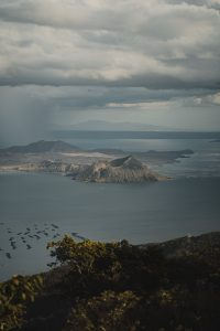 The deceptively small yet powerful Taal Vulcano in Tagaytay, Philippines